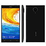 Gionee E7 Unlocked Smartphone 3G Support OTG 16MP 8MP 2GB 16GB 5.5 inch 1920x1080 FHD Android 4.2 MSM8974 Quad Core 2.2GHz WCDMA GSM (with Gifts OTG cable/Holder/Screen protector), Black