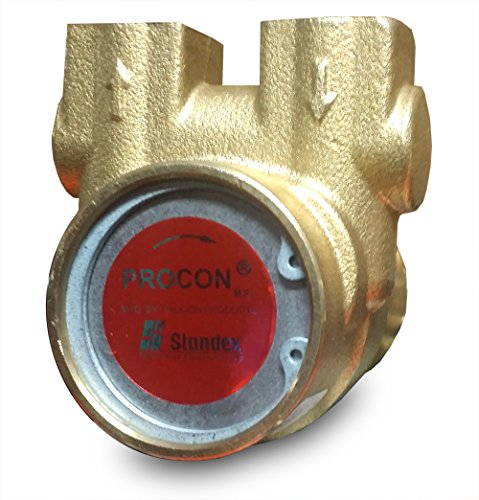 (112A125F11XX - Procon brass, 125 GPH clamp-on, for 1/3 HP)