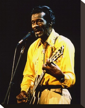 Chuck Berry Print on Canvas