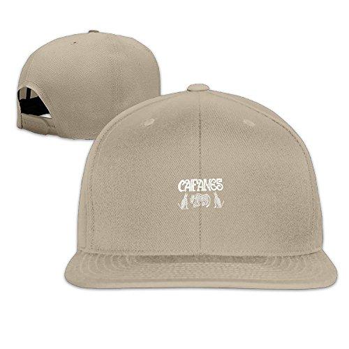 Caifanes Rock Band Logo Outdoor Sport Hat Adjustable NY Baseball Cap.