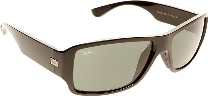 2d488ac9db9e1 Ray-Ban Rectangular Sunglasses (Grey) (Rb4199 601 71 61 - Rb4199 ...