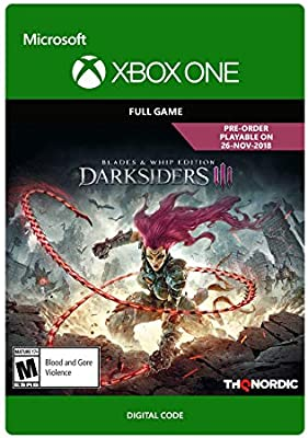 Amazon com: Darksiders III: Blades & Whips Edition - Xbox