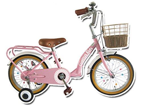 Lupinusルピナス 自転車 16インチ LP-16NKN 子供自転車 キッズバイク 100%完成車  ストロベリーピンク B00VLJ4208
