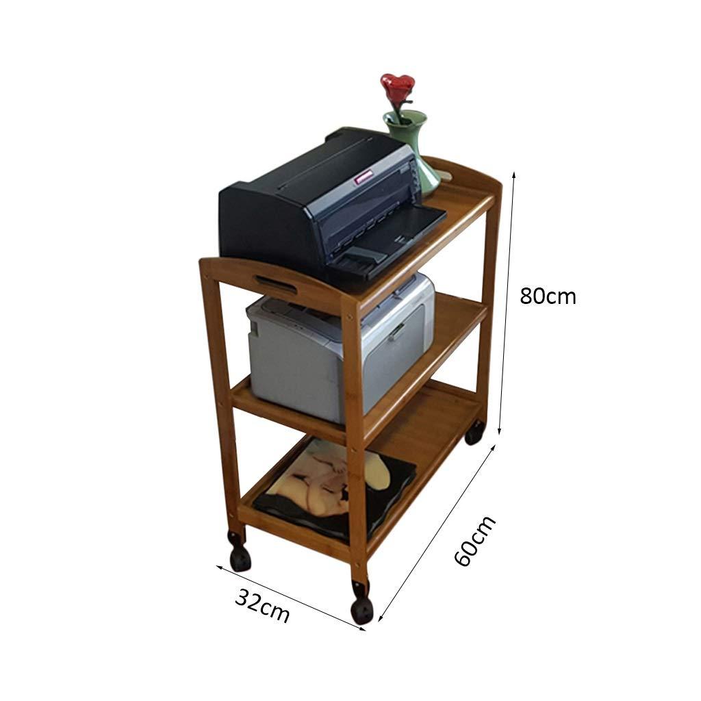 Soporte de la impresora Estante de múltiples tiendas móvil ...