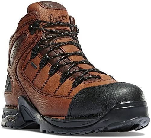 Danner 453 5.5 Steel Gray Outdoor Boots Downhill Braking and Side-Hill Traction