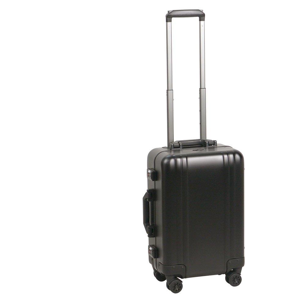 [ゼロハリバートン] ZEROHALLIBURTON CLASSIC ALUMINUM 2.0 Carry-On 4-Wheel Spinner Travel Case Black[並行輸入品] B07FSMHC9D