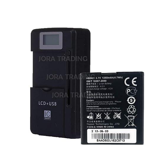 Amazon.com: OEM Battery HB5K1 for Huawei M866 C8650 U8650 ...