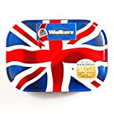 Walkers Shortbread Union Jack Cookie Tin 4.2 oz each (1 Item Per...