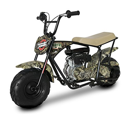 Monster Moto MM-B80-BC Break Up Country Mossy Oak 80CC Youth Gas Mini Bike,1 Pack by Monster Moto