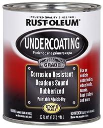 Rust-Oleum Automotive 254864 32-Ounce Professional Undercoating Quart, Black