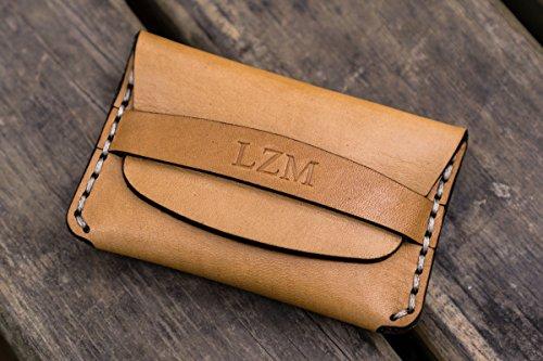 No.36 Personalized Basic Flap Leather Wallet - (Basics Flap)