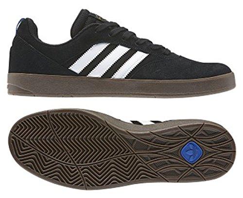 Chaussure De Skate Adidas Pour Homme Noir / Blanc / Gomme