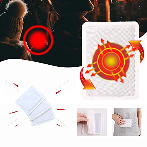 Disposable Body Warmers Pads ,Heating Packs with Air Activate, Great for Hunting, Hiking, Camping, Outdoor Sports Activities - 10 Packs (Disposable Body Warmer)