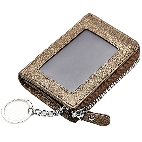 unisex card holder(gold ) - 5