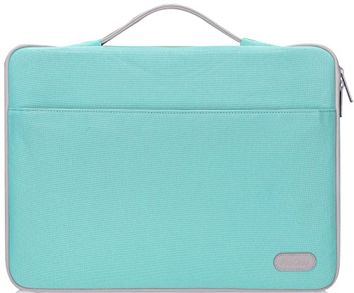 ProCase 14-15.6 Inch Laptop Sleeve Case Protective Bag, Ultrabook Notebook Carrying Case Handbag for 14 15 Samsung Sony ASUS Acer Lenovo Dell HP Toshiba Chromebook Computers -Mint Green