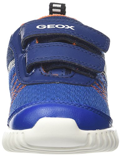 Azul Eu navy Geox para 27 Waviness C Zapatillas orange Bebé B Niños xaP0agSw