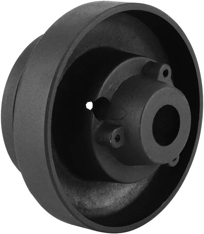 KIMISS Adaptateur de Moyeu de Volant de Voiture,Kit Dadaptation /à D/égagement Rapide pour Moyeu de Volant en Aluminium pour E36