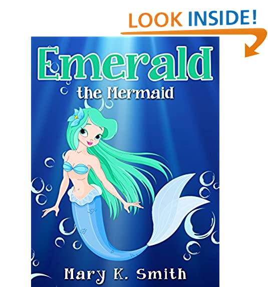 EMERALD THE MERMAID Cute Fairy Tale Bedtime Story For Kids Sunshine Reading Book 4
