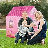 YGJT Tente de Jeux Enfant Durable Anti Flaming Jardin Play House Tente Playhouse avec boîte-Cadeau pour Les Filles D'intérieur et De Plein Air- Jouets pour 3 Ans