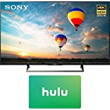 Sony XBR-55X800E 55-inch 4K HDR Ultra HD Smart LED TV (2017 Model) w/1 Month Netflix Subscription