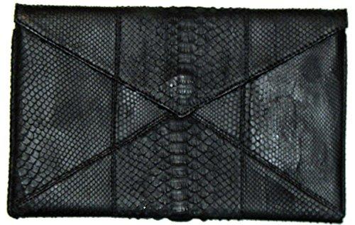 Clutch Envelope Python (Beirn Python Envelope Clutch (Black))