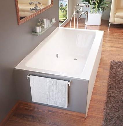 Beau Atlantis Whirlpools 3060shl Soho Rectangular Soaking Bathtub, 30 X 60, Left  Drain, White   Freestanding Bathtubs   Amazon.com