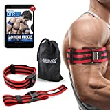 Occlusion Training Bands by BFR Bands PRO X Model, 2 Pack, Blood Flow Restriction Bands with Research-Backed 2'' Width - Pull to Tighten + Quick-Release + Pinch Free Buckle, Multiple Patents Pending