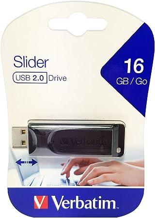 Verbatim Slider Usb Stick Drive 16 Gb I Usb 2 0 I Usb Computer Zubehör
