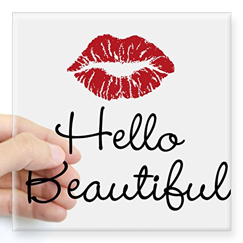 CafePress Beautiful Sticker Square Bumper