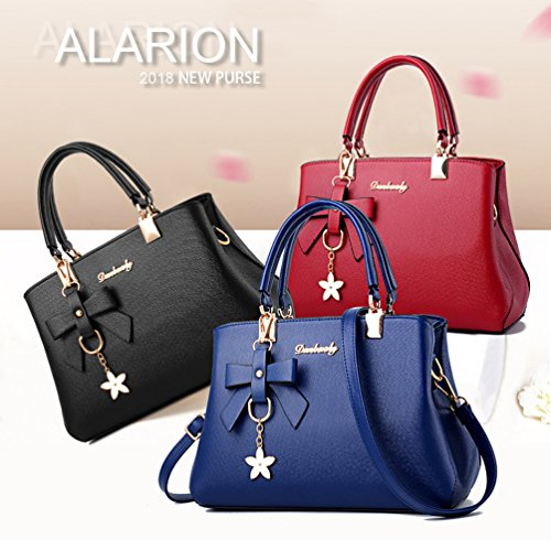 Satchel Bags Purse Bag Light Pink Handle Ladies Messenger Handbags Shoulder Designer Women Top ALARION tU4xqwPpx