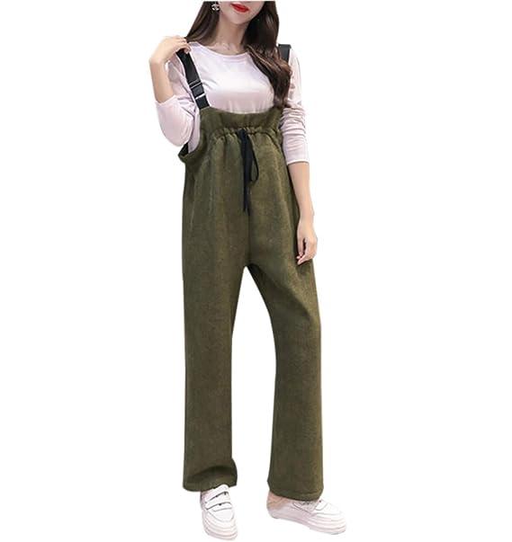 kommt an lebendig und großartig im Stil modernes Design zhxinashu Dungarees Suspender Umstandsmode für Frauen ...