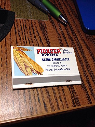 Pioneer Hybrids Corn Seeds Matches Matchbook