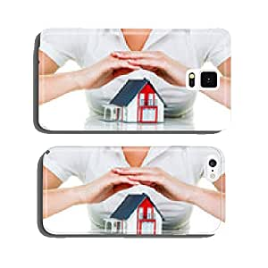 House is protected cell phone cover case Samsung S6