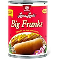 Loma Linda - Plant-Based - Big Franks (20 oz.) (Pack of 12) - Kosher