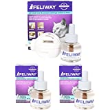 Ceva Feliway Plug-In Diffuser with 3 Refills, 48 mL