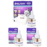 Ceva Feliway Plug-In Diffuser with 3 Refills, 48 m...