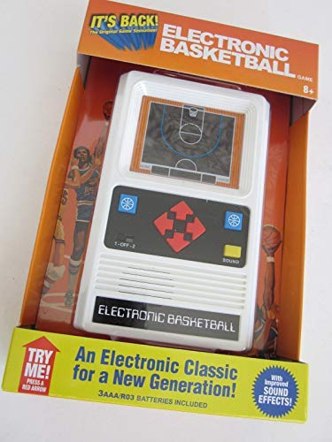 Amazon com: Big Game Toys~Electronic Basketball 1970's Retro