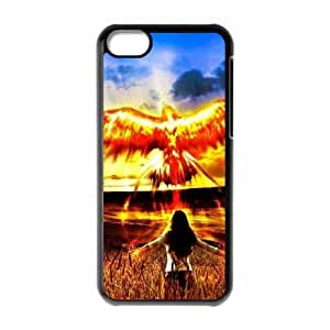 YCHZH Phone case Of Phoenix Cover Case For Ipod Touch 4