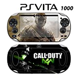 Decorative Video Game Skin Decal Cover Sticker for Sony PlayStation PS Vita (PCH-1000) - COD MW4
