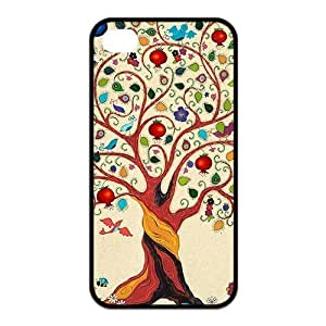 Durable Custom iphone 4s Cases,Hard Silicone+PC Material, Cover Case for iPhone 4 4s,Tree of Life iPhone 4s Case