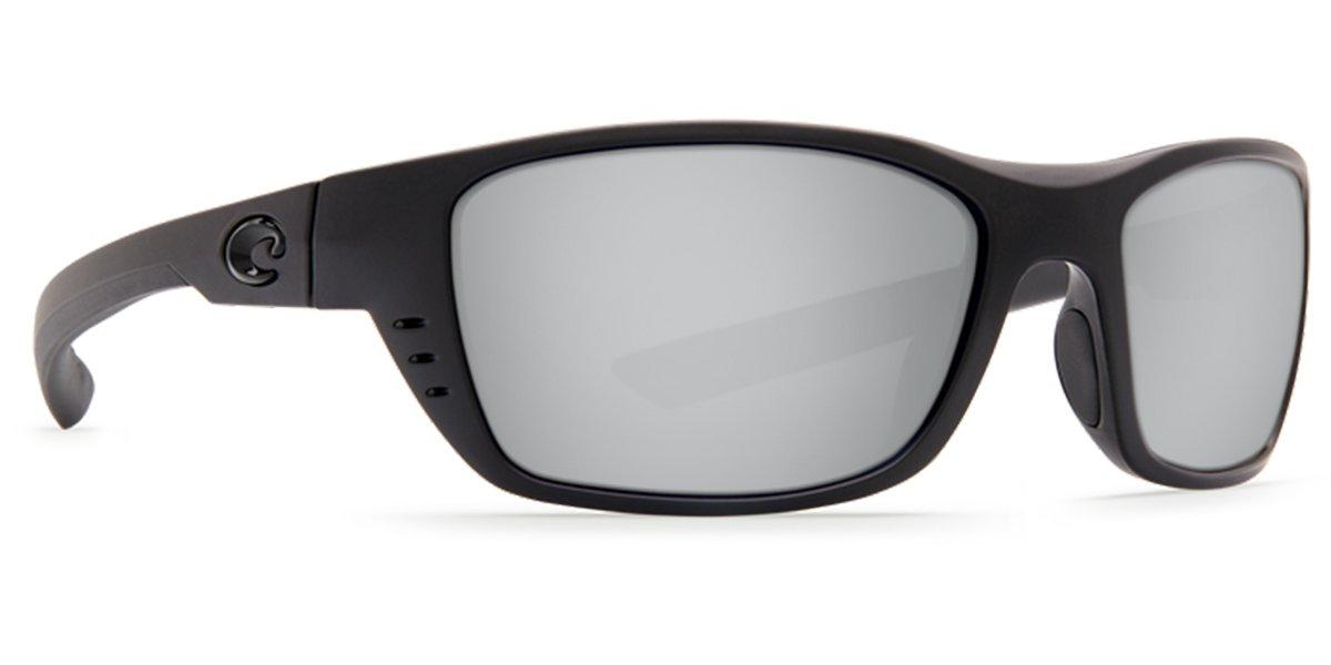 b22febe6d6e Amazon.com   Costa Del Mar Costa Del Mar WTP01OSGP Whitetip Gray Silver  Mirror 580P Blackout Frame Whitetip