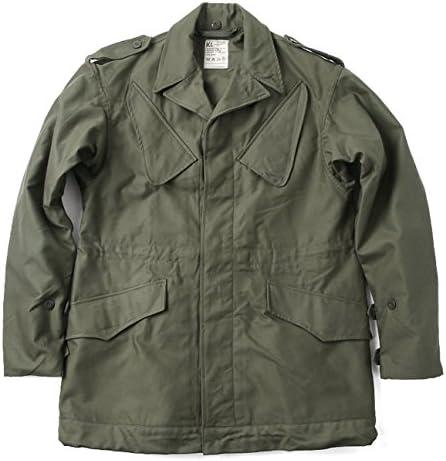 実物 新品 オランダ軍 NATO フィールドジャケット OD/ミリタリー 放出品 ジャケット