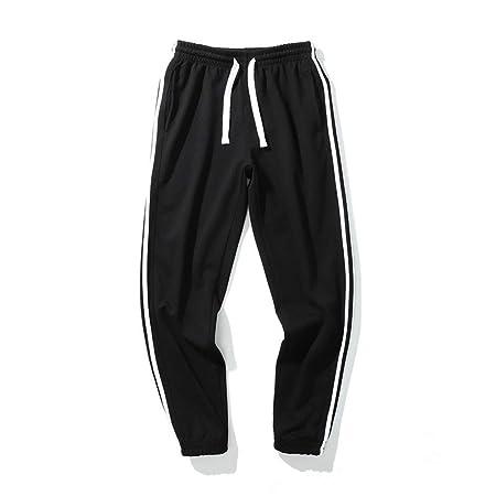 Pantalones jogger para hombre Rayas laterales Pantalones Four ...