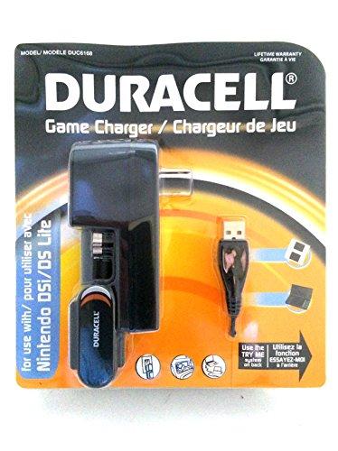Price comparison product image Duracell Nintendo Dsi / ds Lite Car & Wall Charger. Duc6168