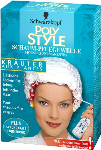 Poly Style Kräuter Schaum-Pflegewelle 5er Pack (5 x 170 ml)