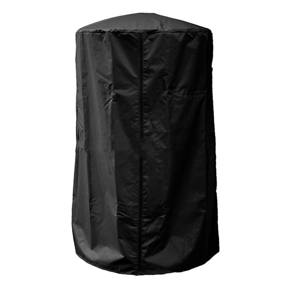 Jcy Outdoor Heater Waterproof Cover, Heavy Duty 210D Oxford Cloth Waterproof Garden Outdoor Heater Cover Beige (61x96.5cm) (Color : Black, Size : 61x96.5cm) by Jucaiyuan-Dust cover