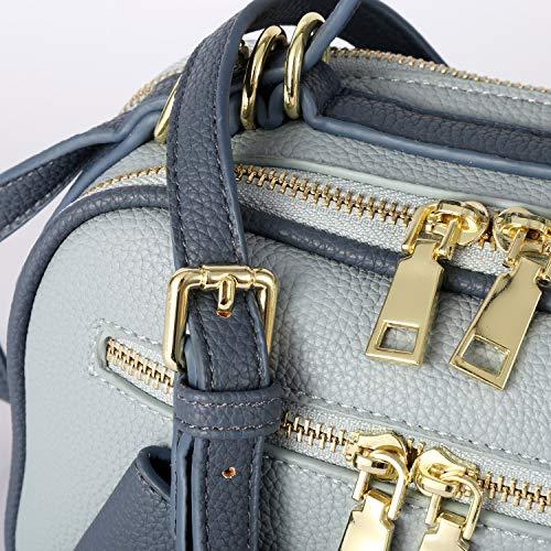 Cuir Angel à Femme 6201850 main Sac Blue lavé Barcelo rSIqvr