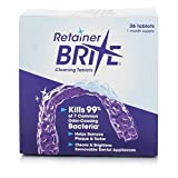 Beauty : Retainer Brite Cleaning Tablets (36 Tablets)