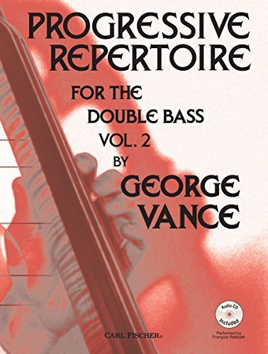 By Various - Progressive Repertoire for the Double Bass - Vol. 2 (2000-12-30) [Sheet music]