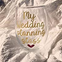 Engagement gift, Engagement wine glass